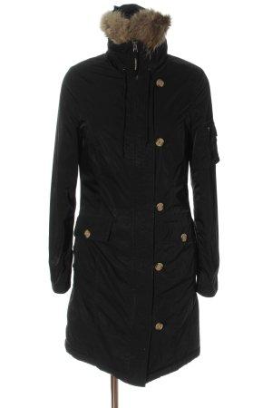 Woolrich Übergangsjacke schwarz Casual-Look