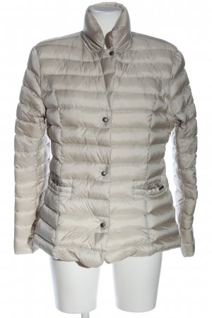 Woolrich Between-Seasons Jacket natural white quilting pattern casual look