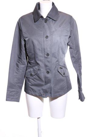 Woolrich Overgangsjack blauw zakelijke stijl