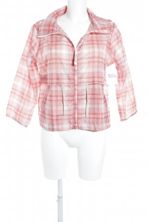 Woolrich Kurtka przejściowa czerwony-biały Sportowy styl