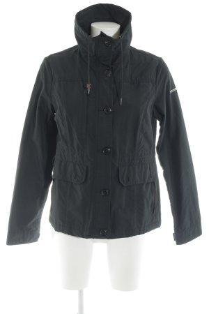 Woolrich Übergangsjacke schwarz schlichter Stil