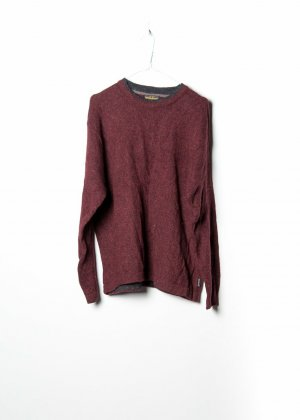 Woolrich Knitted Sweater red wool