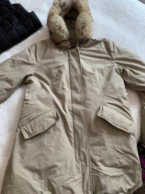 Woolrich Parka chameau-beige