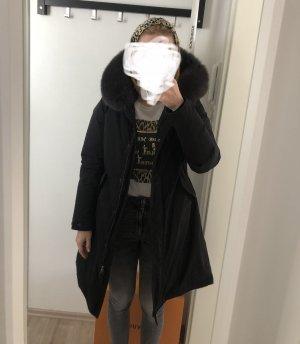 Woolrich Długa kurtka czarny