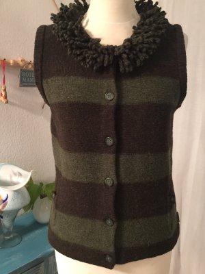 Woolrich Knitted Vest green grey-dark green