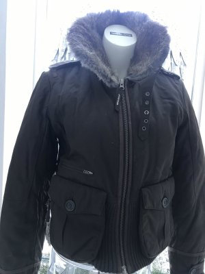 Woolrich Flight Jacket black brown