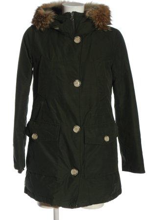 Woolrich Kurtka zimowa khaki W stylu casual