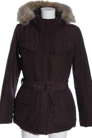 Woolrich Kurtka zimowa brązowy W stylu casual