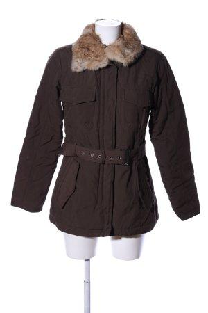 Woolrich Winter Jacket brown casual look