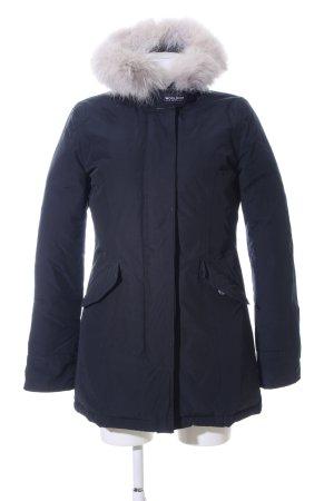 Woolrich Winter Jacket blue casual look