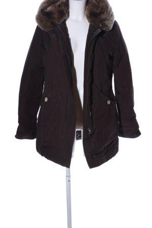 Woolrich Veste d'hiver brun style décontracté