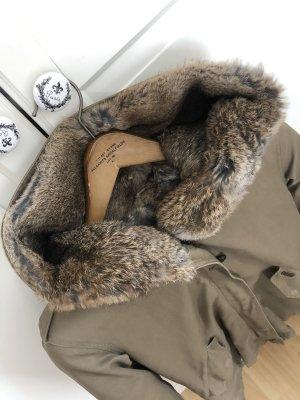 Woolrich Kurtka zimowa khaki