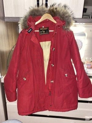 Woolrich Abrigo de plumón rojo