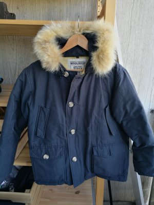 Woolrich Winter Jacket dark blue