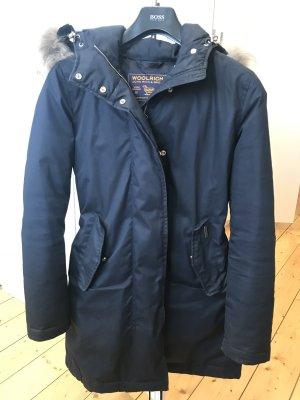 Woolrich Winterjas donkerblauw