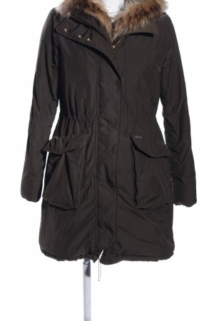 Woolrich Cappotto invernale cachi stile casual