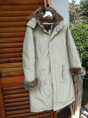 Woolrich Wintermantel mit Fell Größe XL