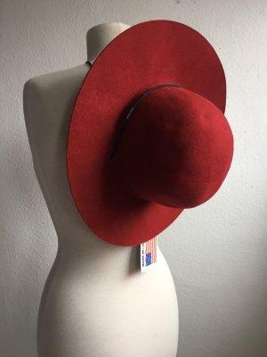 Woolrich Woolen Hat bordeaux