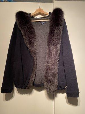 Woolrich Rebeca azul oscuro Lana