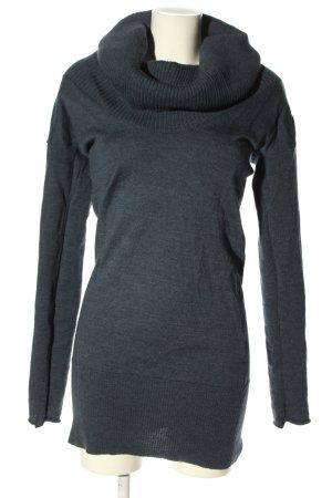 Woolrich Vestido de lana gris claro moteado look casual