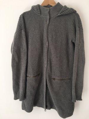 Woolrich Wełniany sweter szary