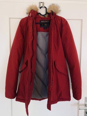 Woolrich Parka dark red