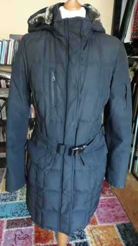 Woolrich Quilted Coat blue-dark blue