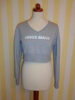 Venice beach Débardeur de sport argenté-gris clair