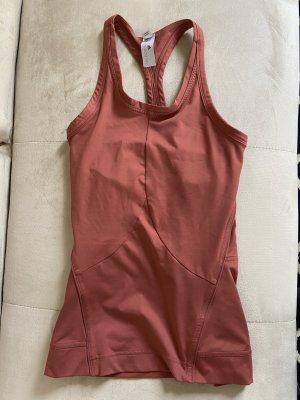 Adidas by Stella McCartney Camiseta sin mangas salmón-rojo claro
