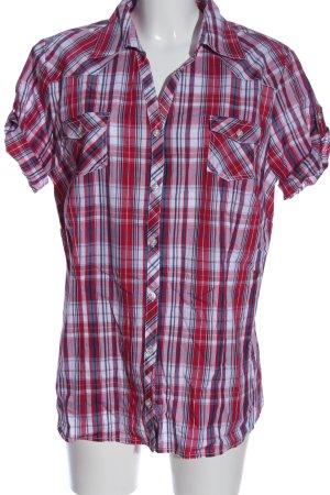 World Of Basics Camisa de manga corta estampado a cuadros look casual