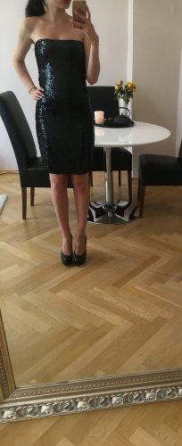 """WOW Blogger Abendkleid """"Night out"""" Pailletten Goddess Größe M <3"""