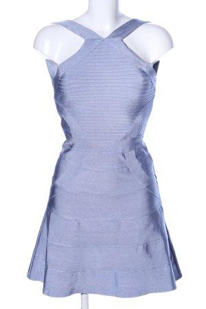 WOW Couture Minikleid blau Casual-Look