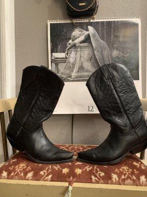 Buffalo Western Laarzen zwart