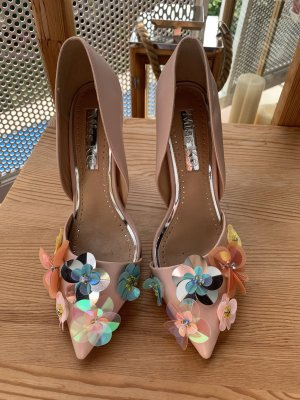 WOW! High Heels mit Blumenapplikation