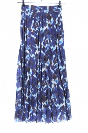 Wow to go! Pleated Skirt check pattern casual look