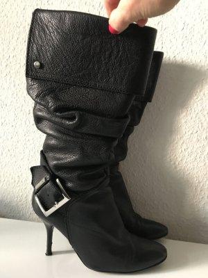 """WOW! Tolle Echtleder Stiefel im """"Knautsch-Look"""" von Karen Millen"""