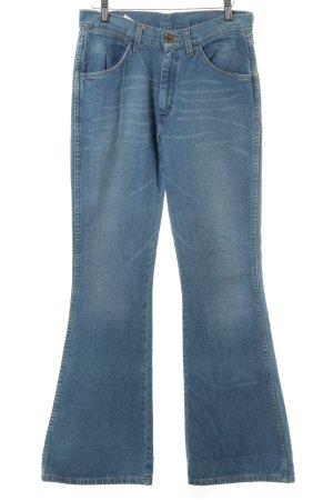 Wrangler Jeansy o kroju boot cut stalowy niebieski W stylu casual