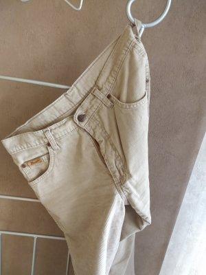Wrangler Pantalon en velours côtelé chameau
