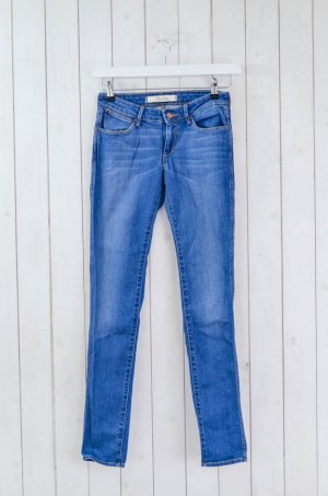 WRANGLER Damen Jeans Slim Schmal Mod.Courtney Blau Baumwolle Elasthan Gr.26/32