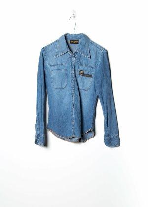 Wrangler Damen Jeanshemd in Blau