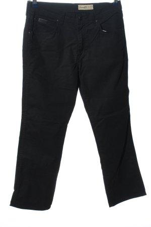 Wrangler Vijfzaksbroek zwart casual uitstraling