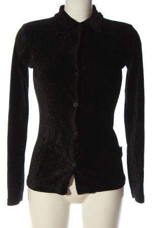 Wrangler Blusa-camisa negro look casual