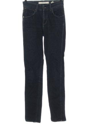 Wrangler Jeans a vita alta blu Elementi di rivetto