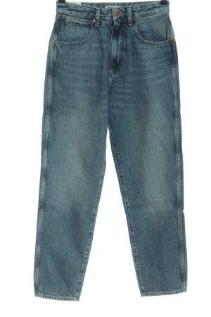 Wrangler Jeansy z wysokim stanem niebieski W stylu casual