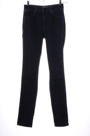 Wrangler Hoge taille jeans zwart casual uitstraling