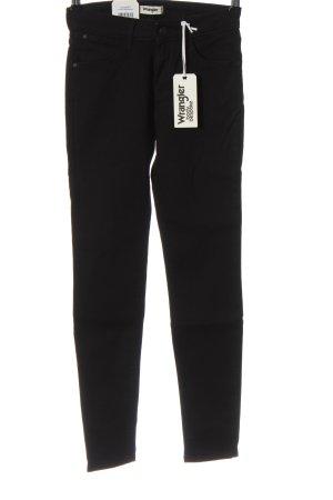 Wrangler High Waist Jeans schwarz Casual-Look