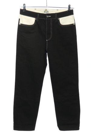 Wrangler High Waist Jeans schwarz-weiß Casual-Look