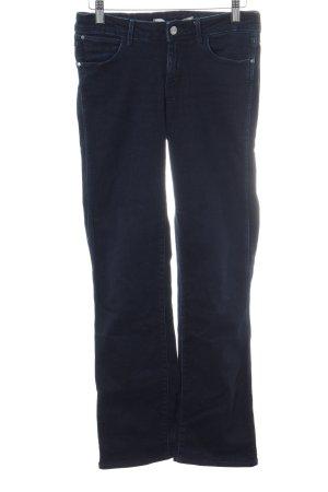 Wrangler Jeans a vita alta blu stile casual