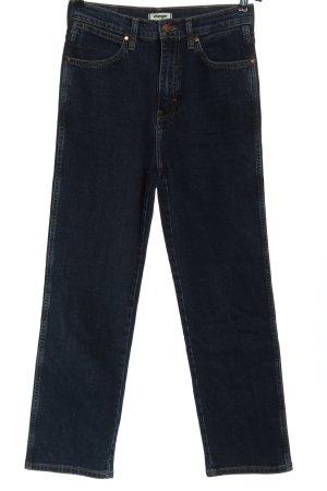 Wrangler High Waist Jeans blau Casual-Look