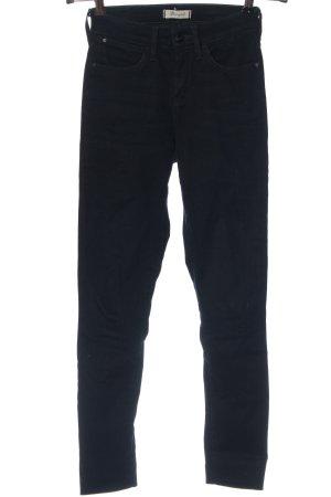 Wrangler Jeans a vita alta nero stile casual